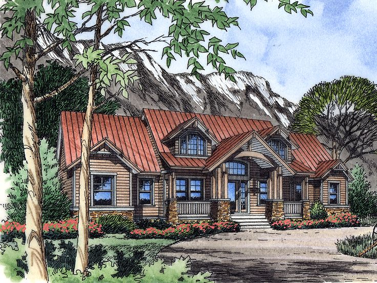 Country House Design, 043H-0186