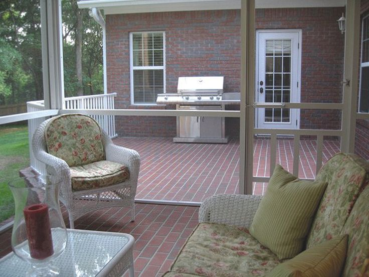 Screen Porch Photo, 007H-0060