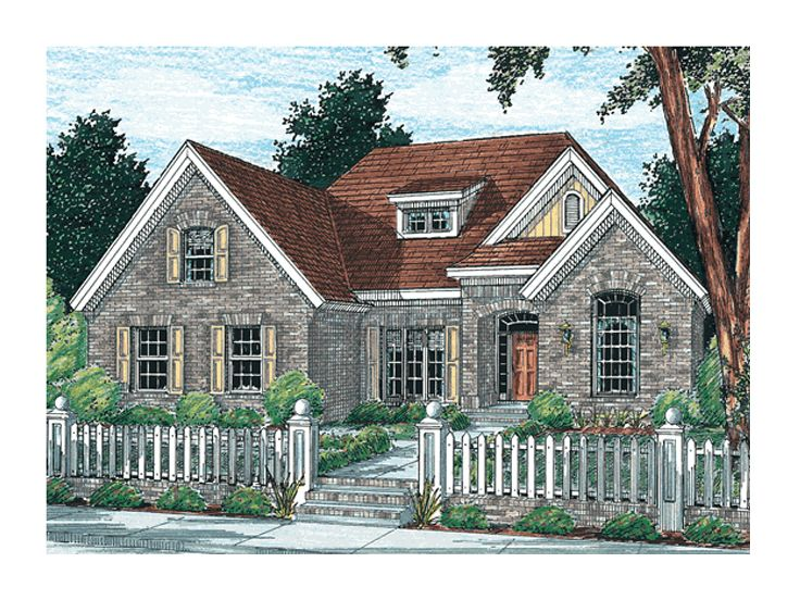 2-Story Home Plan, 059H-0026