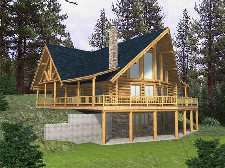 Mountain Home, Rear, 012L-0026