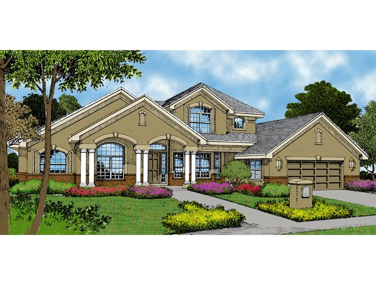 Luxury Home Plan, 043H-0190