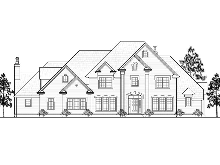 Two-Story House Plan, 055H-0003