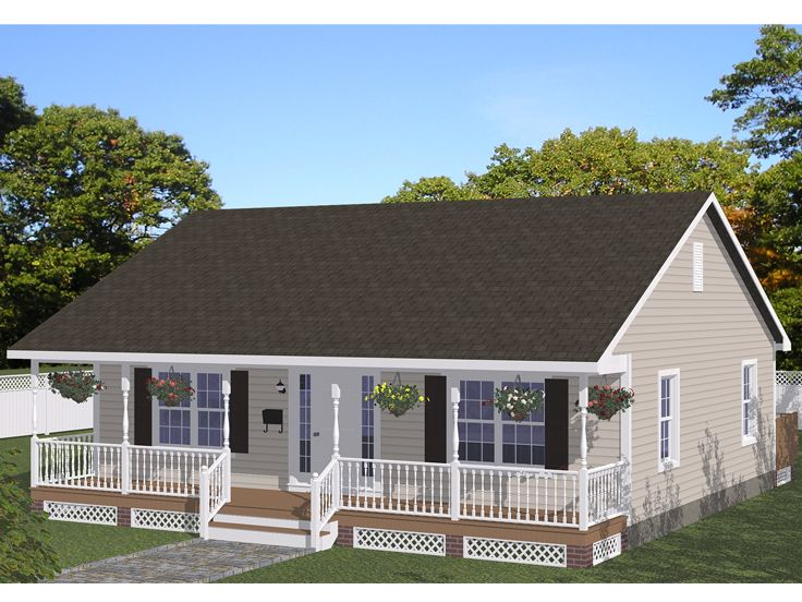 Vacation House Plan, 078H-0079