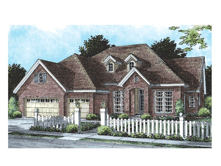 Traditional House Plan, 059H-0071