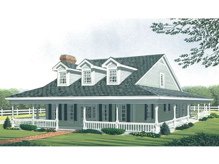 Country Home Design, 054H-0010