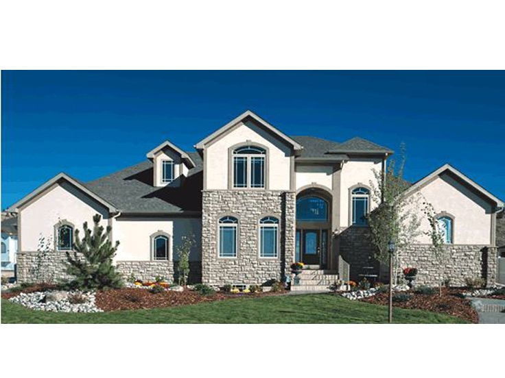 European Home Plan, 031H-0166