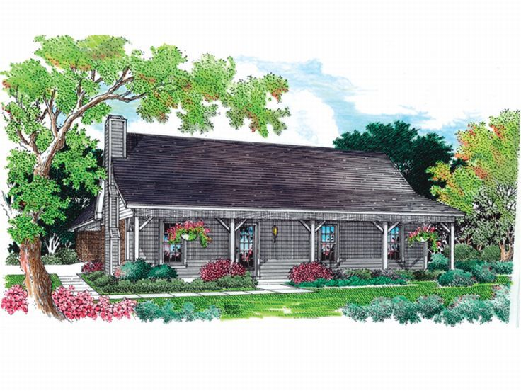 Country House Design, 021H-0029