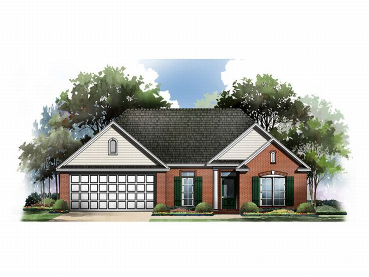 Traditional House Plan, 001H-0035