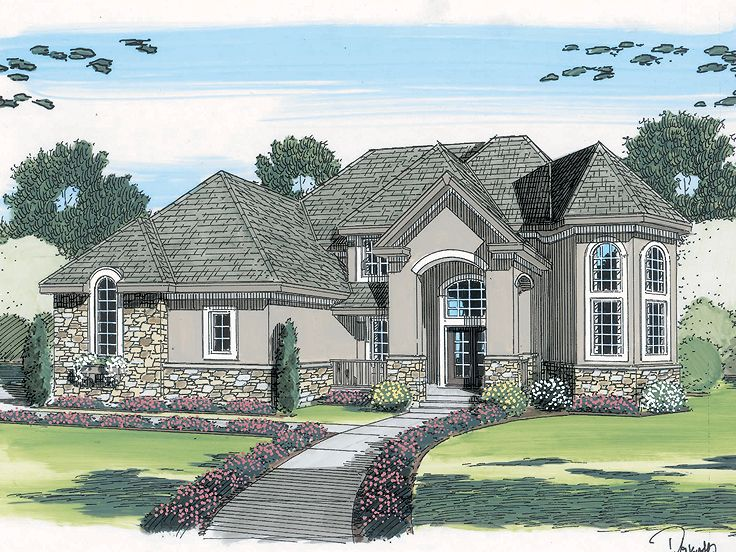 Sunbelt House Plan, 050H-0084