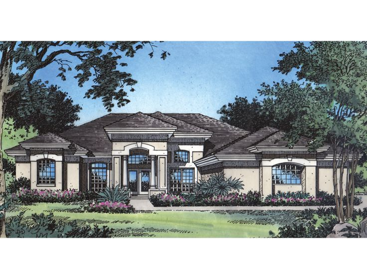 Florida Home Design, 043H-0245