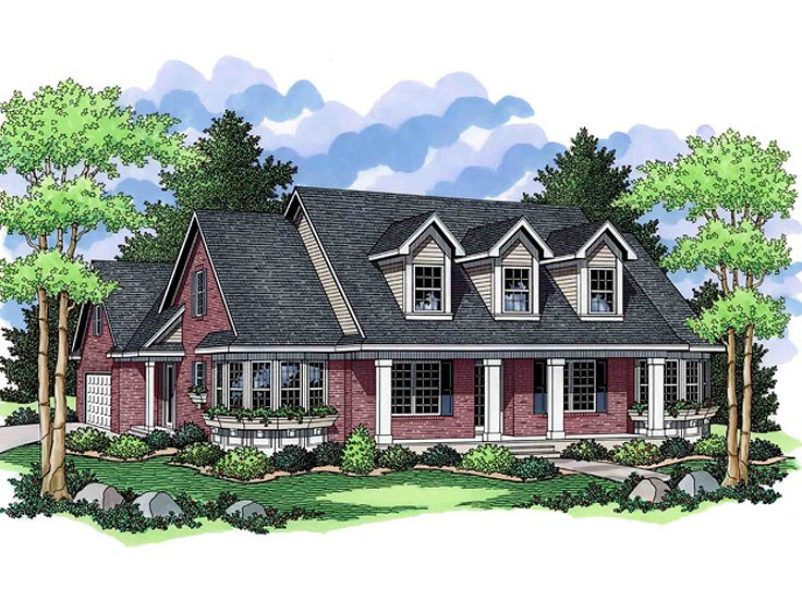 Southern Country House, 023H-0096