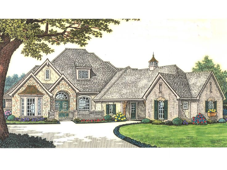 Luxury Home Plan, 002H-0087