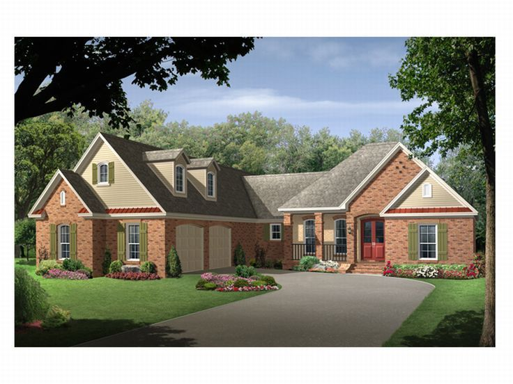 One-Story House Plan, 001H-0108