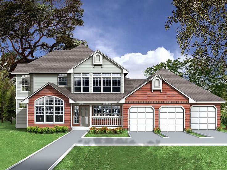 Two-Story House Plan, 026H-0120