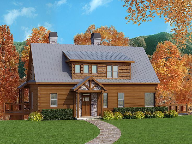 Mountain Home Plan, 053H-0073