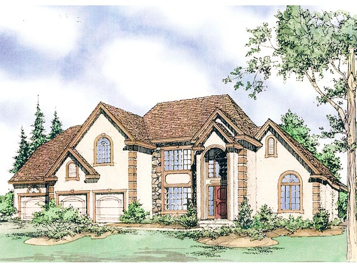 Two-Story Home Plan, 009H-0039