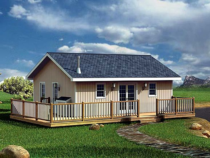 Vacation Home Plan, 047H-0001