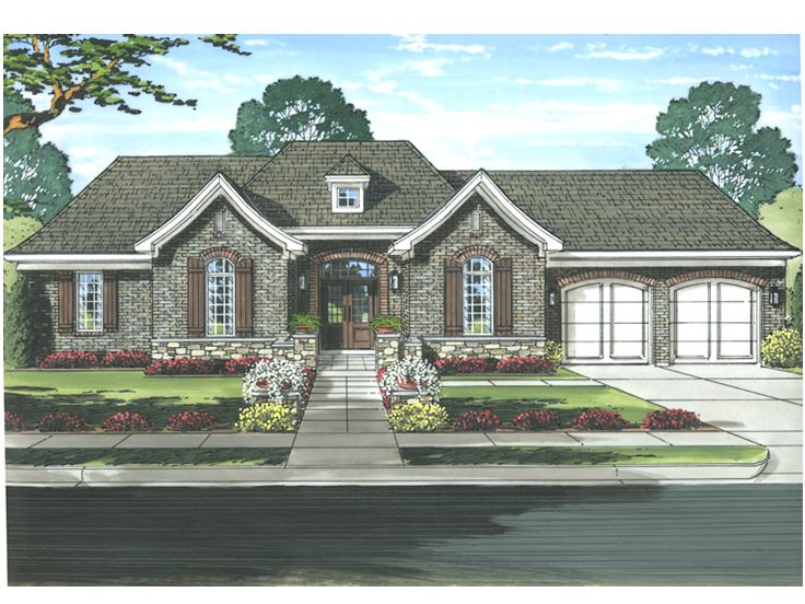 Ranch House Plan, 046H-0098