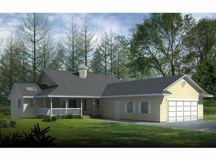 Ranch House Plan, 026H-0044