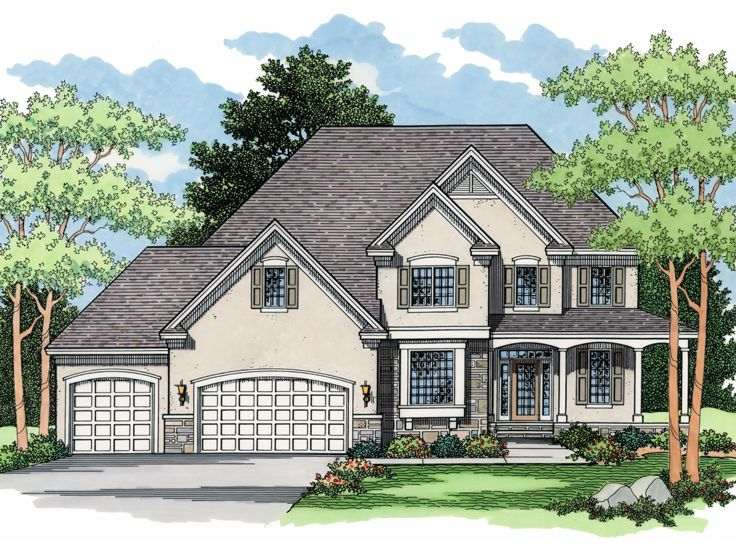 European Home Plan, 023H-0104
