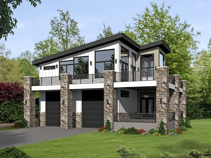 Plan 062g 0101 find unique house plans home plans and for Modern garage plans with loft