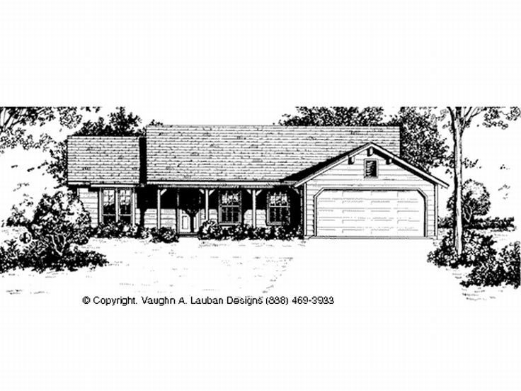 Country House Plan, 004H-0012