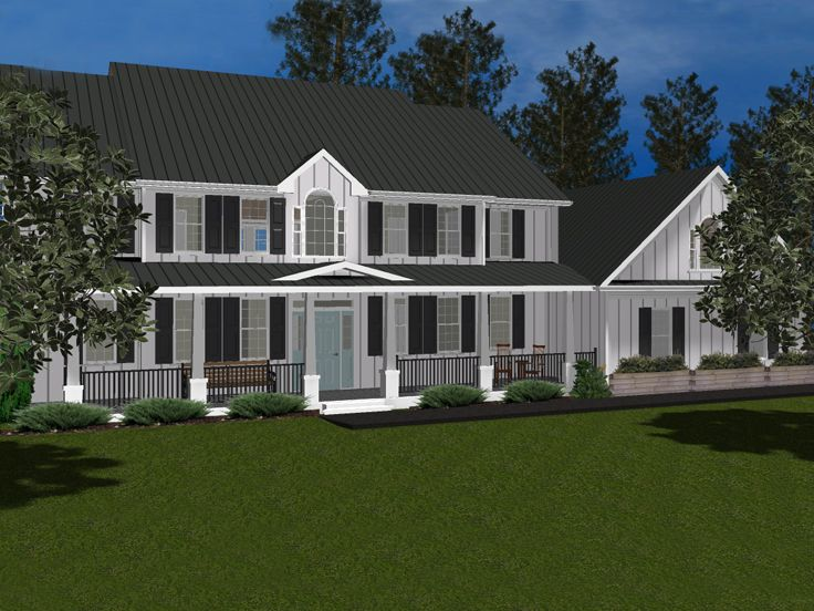 Country House Plan, 049H-0002