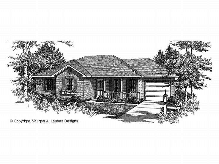 Traditional Home Plan, 004H-0003