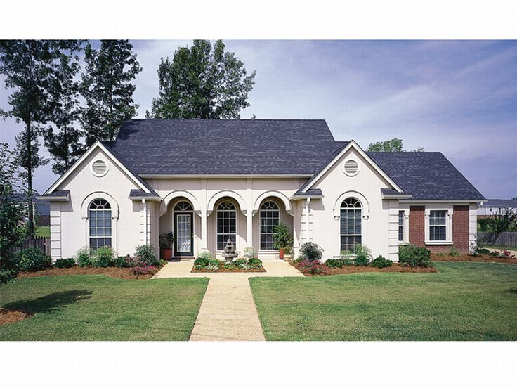 One-Story House Plan Photo, 021H-0087