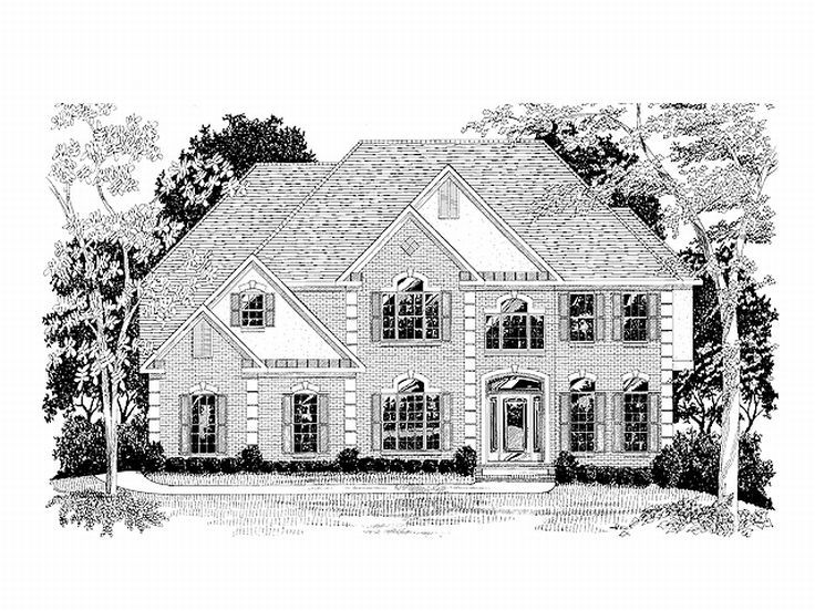 Luxury House Plan, 007H-0094