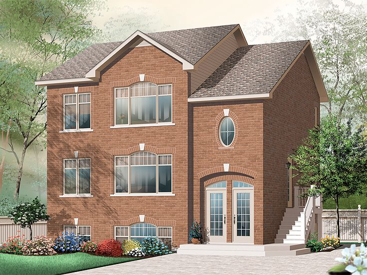 Multi-Family House Plan, 027M-0030