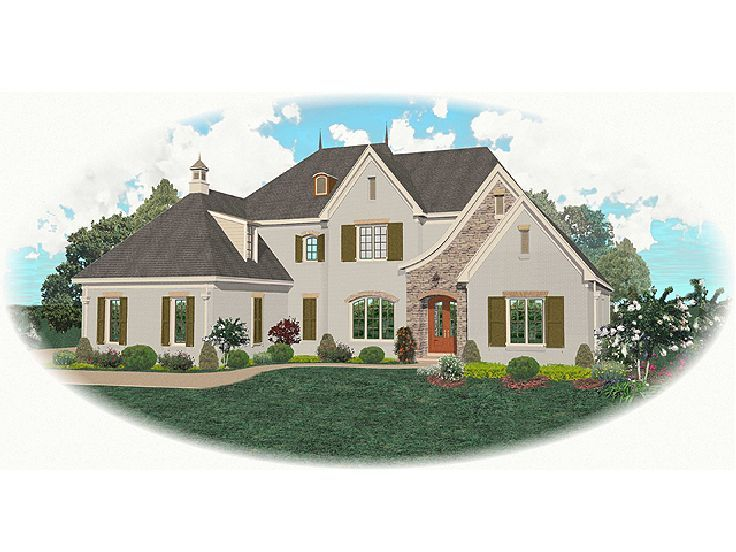 European Home Plan, 006H-0129