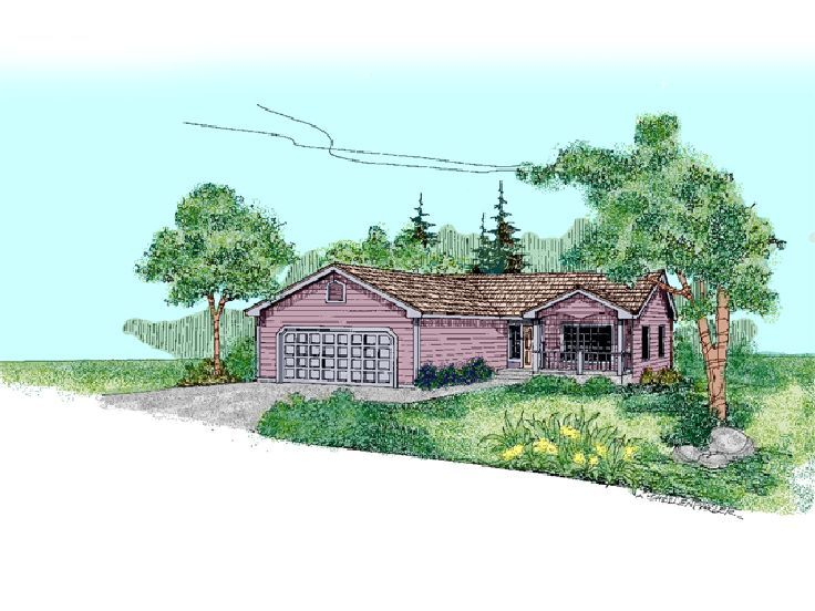 Small House Plan, 013H-0069