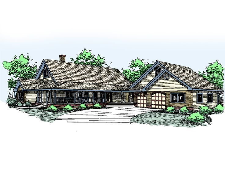 Country House Design, 013H-0036