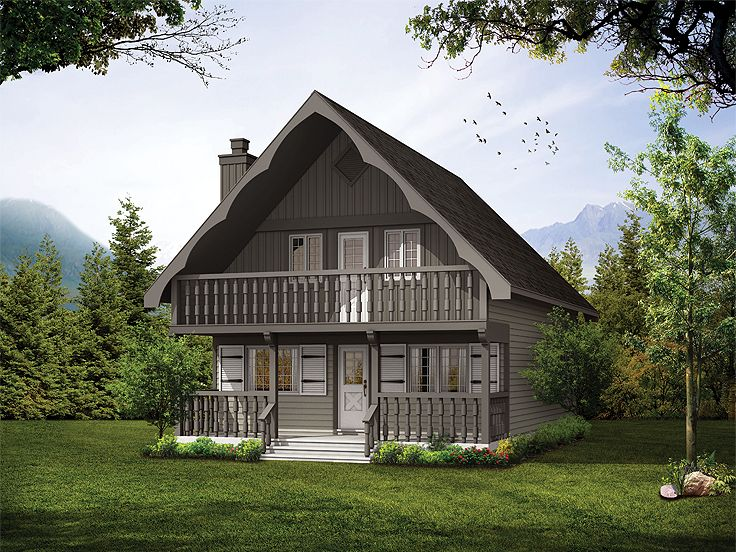 Mountain Chalet, 032H-0008