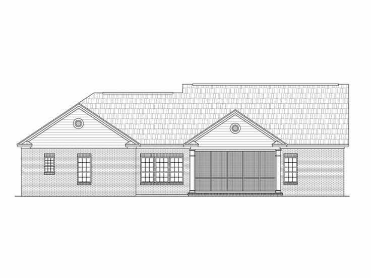 Affordable house plans affordable home plan for family for Affordable house plans for large families