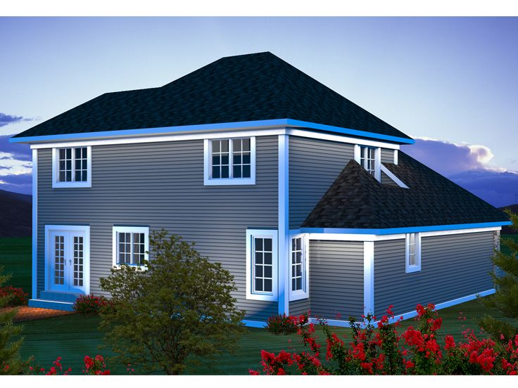 Affordable home plans two story affordable house plan for Cheap two story houses
