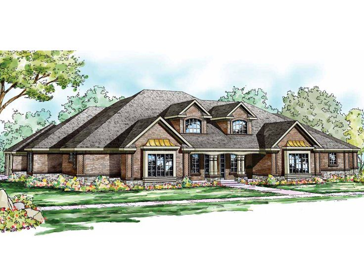 Traditional House Plan, 051H-0175