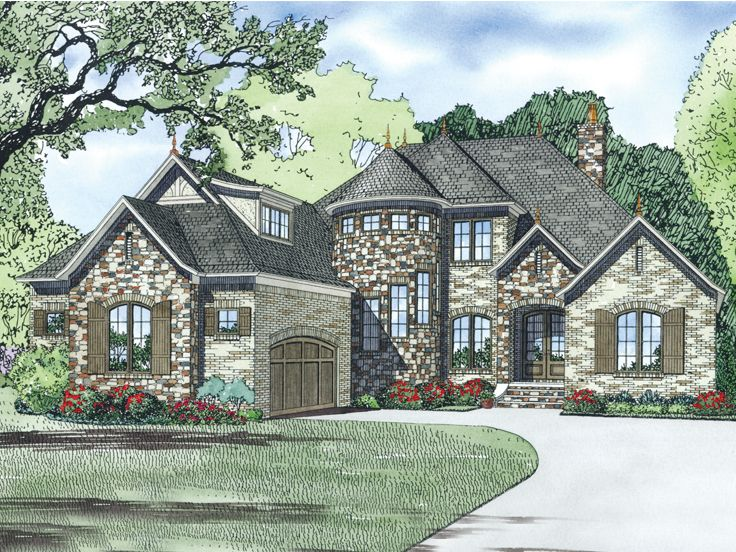 Unique House Plan, 025H-0292