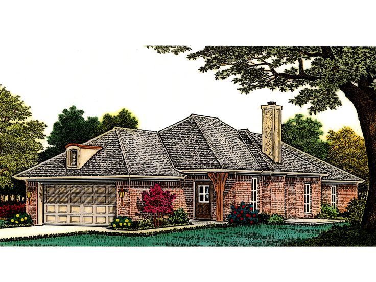 Narrow Lot Home Design, 002H-0102