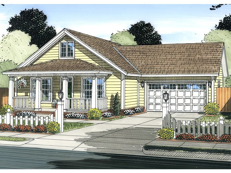 Small Home Plan, 059H-0180