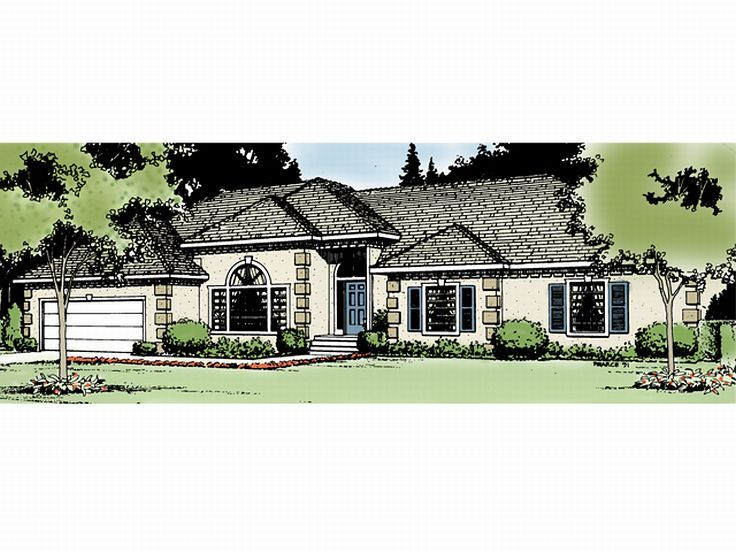 Florida House Plan, 026H-0006