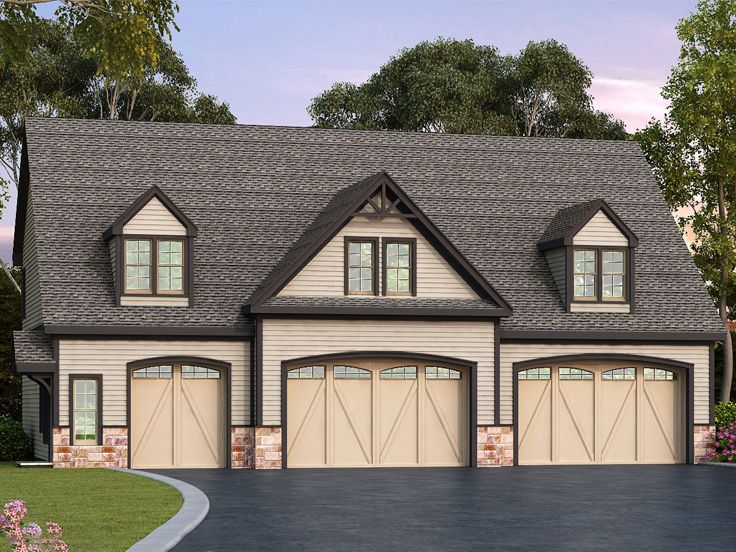 Carriage House Plan, 053G-0028