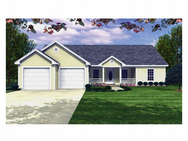 Traditional Home Plan, 001H-0019
