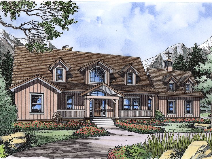 Country House Plan, 043H-0249
