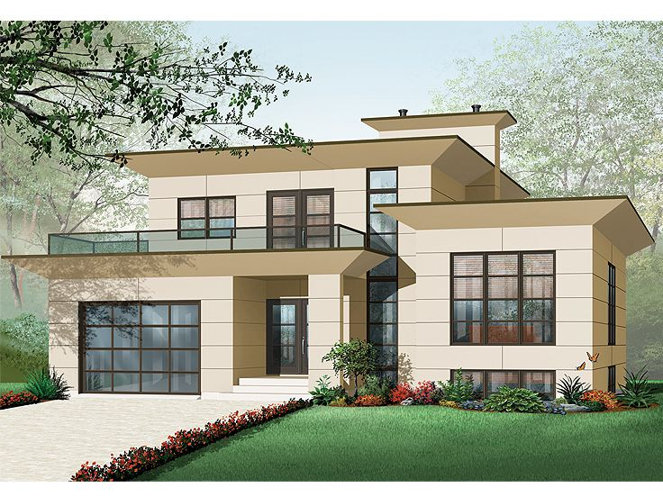 Contemporary Home, 027H-0188