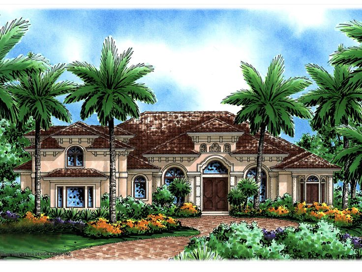Luxury House Plan, 037H-0034