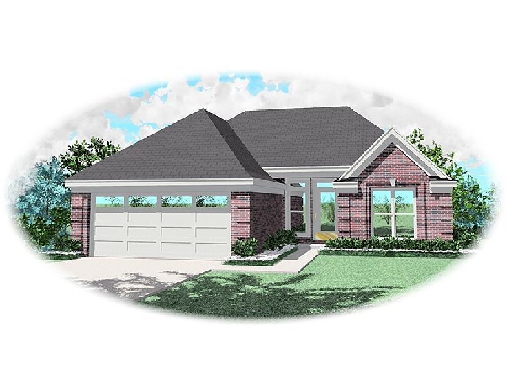 Affordable House Plan, 006H-0020