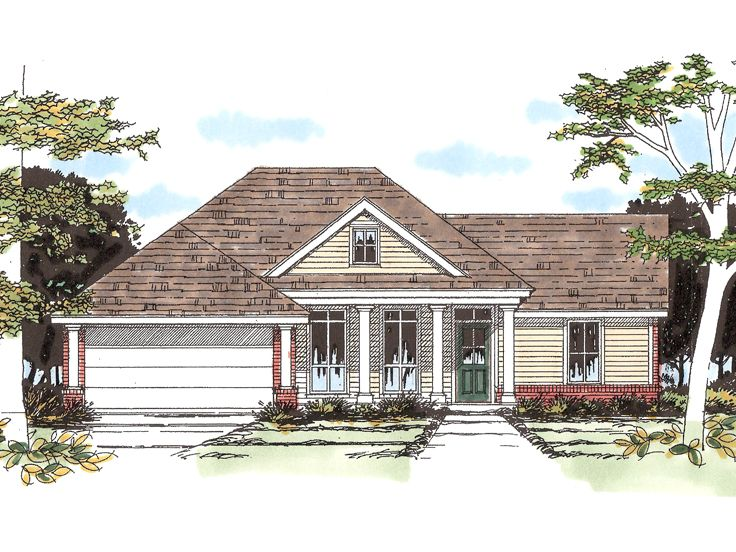 Small House Plan, 036H-0041