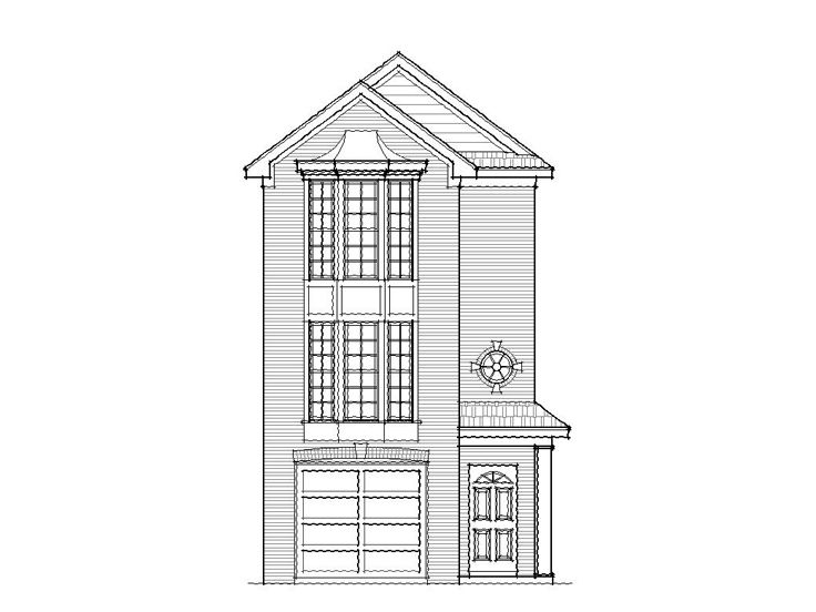Row House Plan, 061H-0013